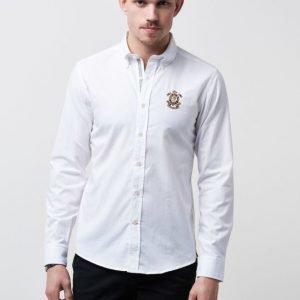 Morris Douglas Embo Shirt 01 White