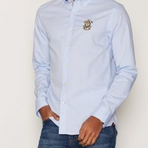 Morris Douglas Embo Shirt Kauluspaita Light Blue