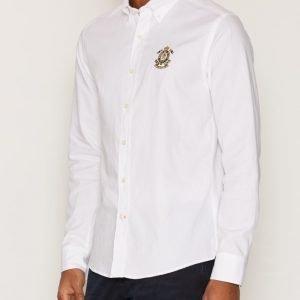 Morris Douglas Embo Shirt Kauluspaita White