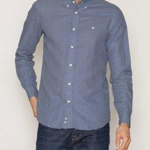 Morris Douglas Shirt Kauluspaita Sininen