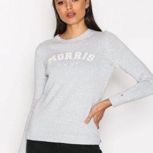 Morris Lady Logo Neulepusero Grey