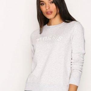 Morris Lady Logo Sweatshirt Svetari Grey
