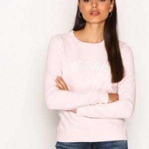 Morris Lady Logo Sweatshirt Svetari Pink