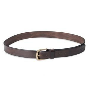 Morris Leather Belt Dark Brown