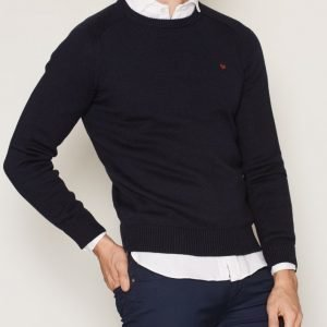 Morris Lily Knit Oneck Pusero Navy