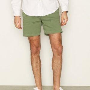 Morris Lt Twill Shorts Shortsit Olive