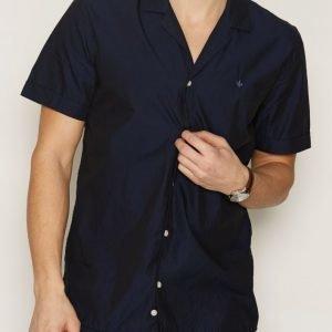 Morris MH Kingpin Shirt Kauluspaita Navy