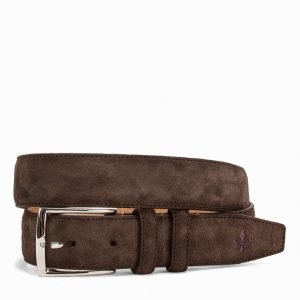 Morris Morris Belt Male Vyö Dark Brown