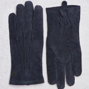 Morris Morris Suede Gloves 64 Navy