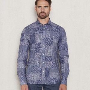 Morris New Barrel Shirt 58 Blue Patch