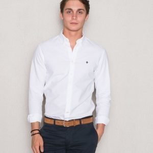 Morris Oxford Button Down 01 White