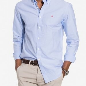 Morris Oxford Button Down Kauluspaita Light Blue