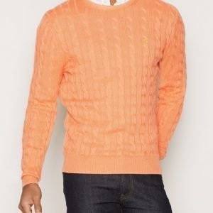Morris Pima Cotton Cable Pusero Oranssi