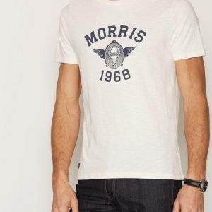 Morris SS T-shirt T-paita Offwhite