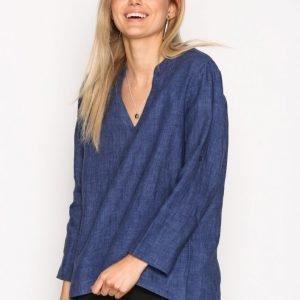 Morris Sandrine Blouse Arkipaita Blue