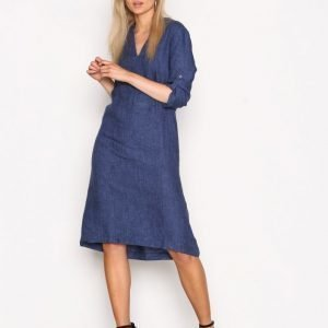 Morris Sandrine Dress Loose Fit Mekko Blue