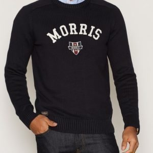 Morris Sayer Knit Pusero Blue