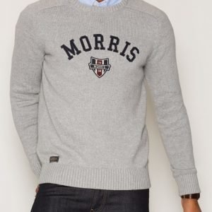 Morris Sayer Knit Pusero Grey