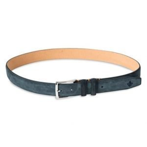 Morris Suede Belt Blue