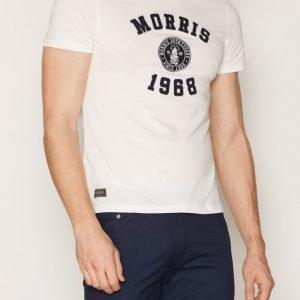 Morris Wade Tee T-paita Offwhite