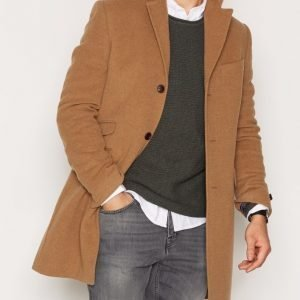 Morris William Coat Takki Camel
