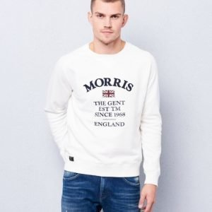 Morris William Sweatshirt 02 Offwhite