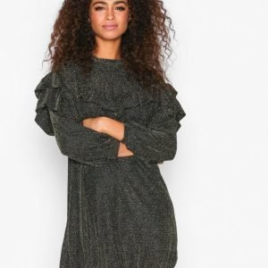 Moss Copenhagen Jessica Dress Loose Fit Mekko Black / Gold
