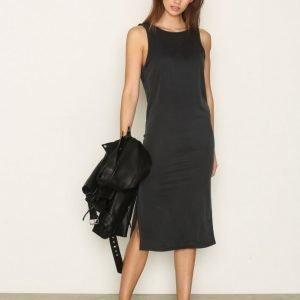 Moss Copenhagen Kalua Akela Dress Loose Fit Mekko Dark Grey