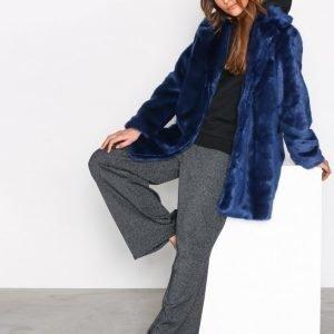 Moss Copenhagen Lora Fairy Jacket Tekoturkki Blue