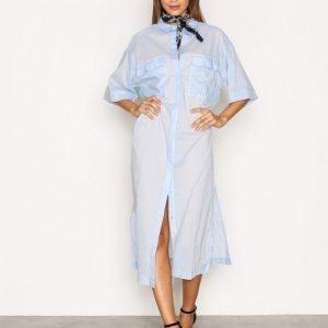 Moss Copenhagen Ottie Voile Long Shirt Pusero Light Blue