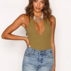 Motel Game Changer Bodice Body Olive