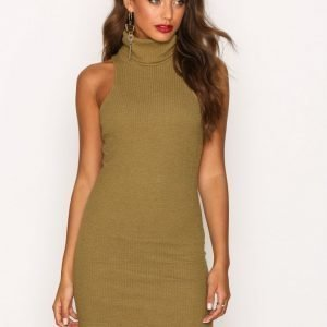 Motel Jourdana Midi Dress Kotelomekko Olive