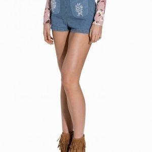 Motel Kat Shorts Shortsit Blue