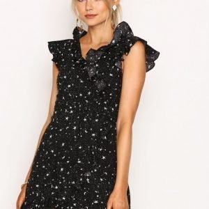 Motel Rica Ruffle Dress Loose Fit Mekko Cosmos