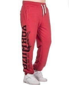 Motherfxcker Joggers Red