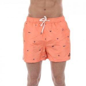 Mouli Bardoz Shorts Uimahousut Oranssi