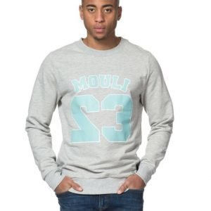 Mouli Connor Sweat Grey Melange