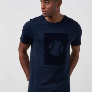Mouli Quentin Tee Blue Navy