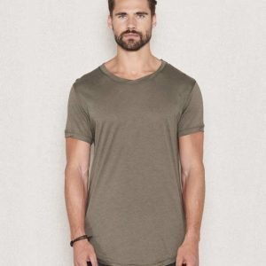 Mouli Ricky Tee Dark Green