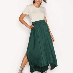 Moves Hala Skirt Pitkä Hame Green