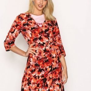 Moves Liga Dress Loose Fit Mekko Red