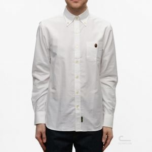 Mr Bathing Ape Oxford Button Down Shirt