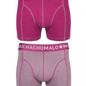 Muchachomalo Boxer Solid 2-Pack Bokserit Grey