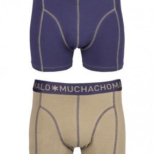 Muchachomalo Boxer Solid 2-Pack Bokserit Navy