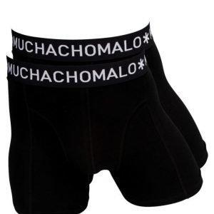 Muchachomalo Solid 2-pack 02 Black/Black