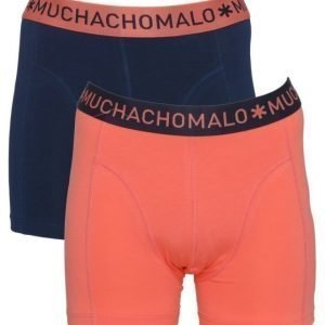 Muchachomalo Solid 2-pack 149 Coral red/Navy