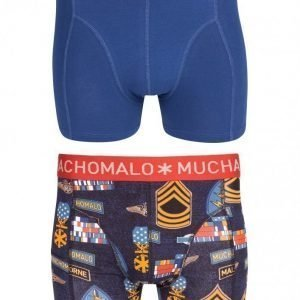 Muchachomalo Uniform 06B 2-Pack Boxer Bokserit Print