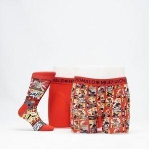 Muchachomalo X-Mas Gift Box 01 Red