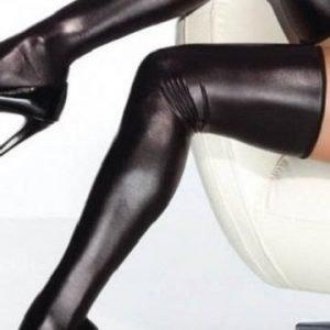 Mustat PVC-sukat