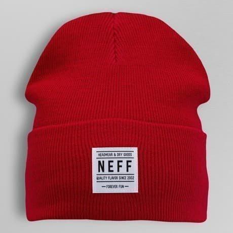 NEFF Pipo Punainen